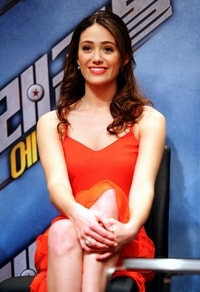 Emmy Rossum Bulma Dragonball Evolution